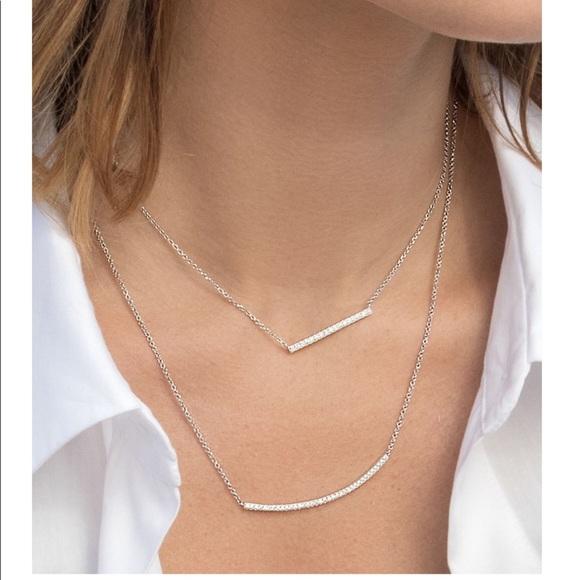 71eae3a9b APM Monaco Jewelry | Promesse Bar Necklace Set | Poshmark